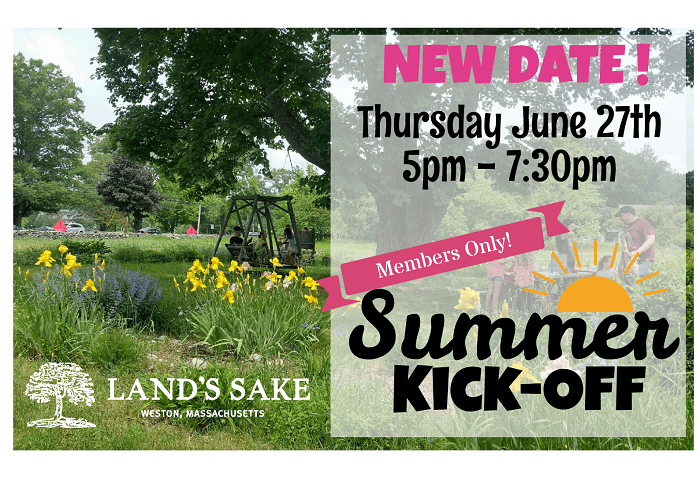 New date! Thursday June 27 5 pm - 7:30 pm Summer Kick off
